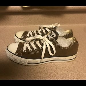 PreOwned Converse All-Star Lace Up Women's 7 Brown